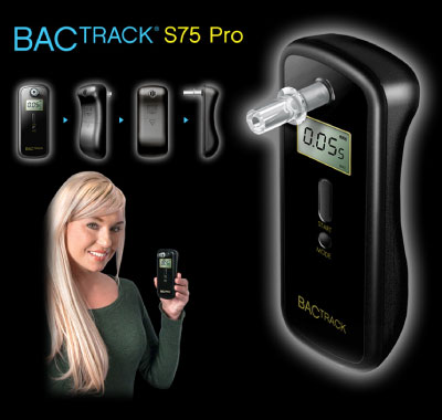 BACtrack S75 Pro Breathalyzer