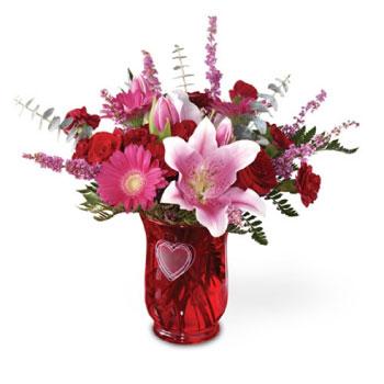 You're In My Heart Flower Arrangement from Bloom Avenue