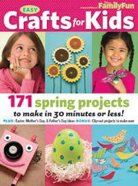 Disney FamilyFun Special Edition Magazine - Easy Crafts for Kids