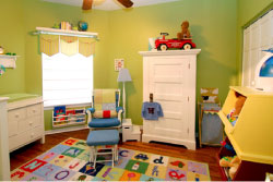 Top 10 Green, Healthy Tips for Decorating Your Nursery or Baby's Room!