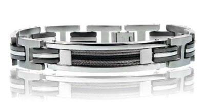 Primo Jewels Men's Stainless Steel Bracelet