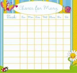 Frecklebox Chore Chart