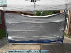 EzShade UPF 50+ Sidewall for a 10' x 10' Canopy