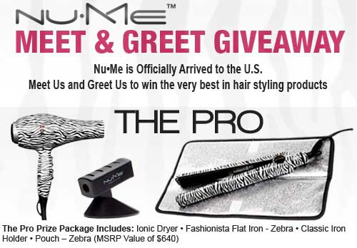 NuMe The Pro Prize Package