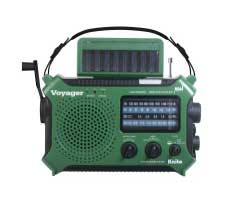 Wind & Weather Kaito Voyager Solar & Crank Weather Alert Multiband Radio with Cell Phone & mp3/iPod Charger