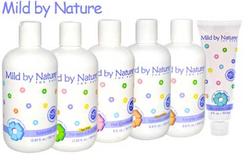 Mild by Nature Line of Baby Products from iHerb.com