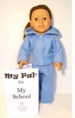 """My Pal for My School Girl 18"""" Doll from LorettaRose LLC"""