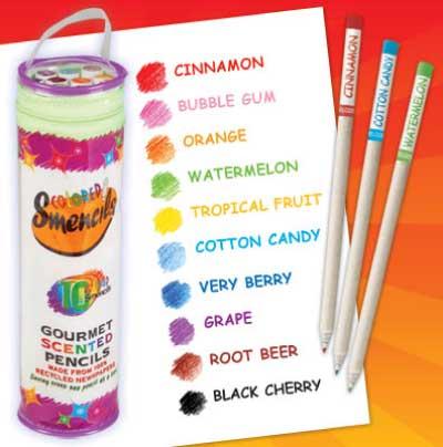 Colored Smencils