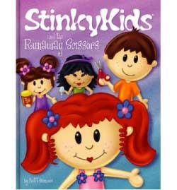 StinkyKids and the Runaway Scissors Book