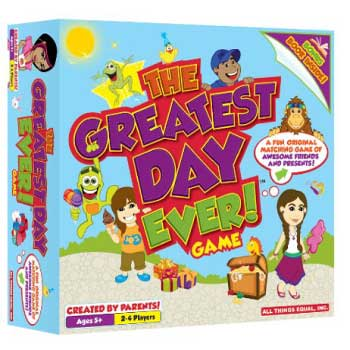 FamilyandPartyGames.com The Greatest Day Ever! Game