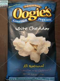 Oogie's Gourmet Popcorn White Cheddar