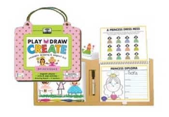 innovativeKids Princesses - green start Play, Draw, Create