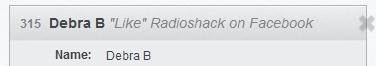 RadioShack Winner