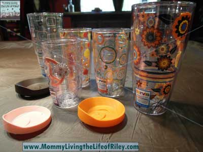 Tervis Fiesta Collection Tumblers with Lids