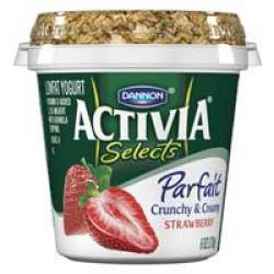 Activia Selects Parfait Yogurt