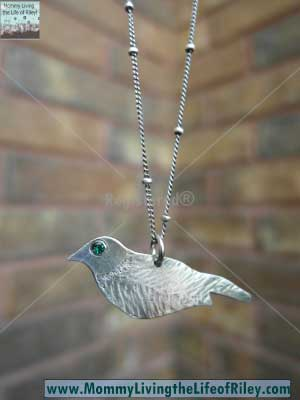 Luscious Metals Blackbird Necklace