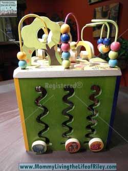 B. Toys Zany Zoo Wooden Activity Cube
