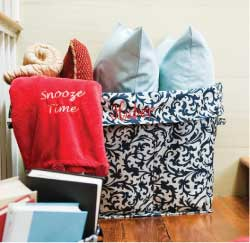 Initials, Inc. Sort It All Out Personalized Tote - Melynda LeMaire