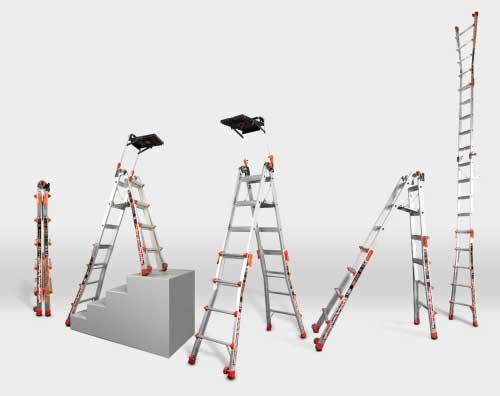 Little Giant Xtreme Model 17 Multi-Use Ladder