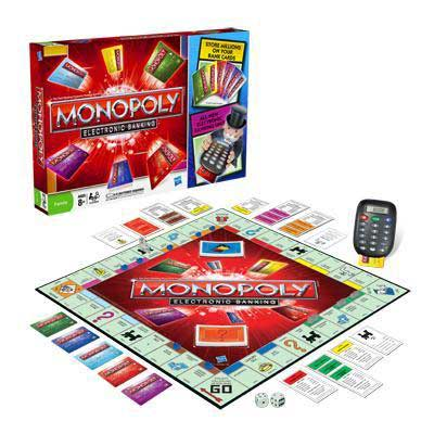 Monopoly Electronic Banking Edition from Hasbro Games