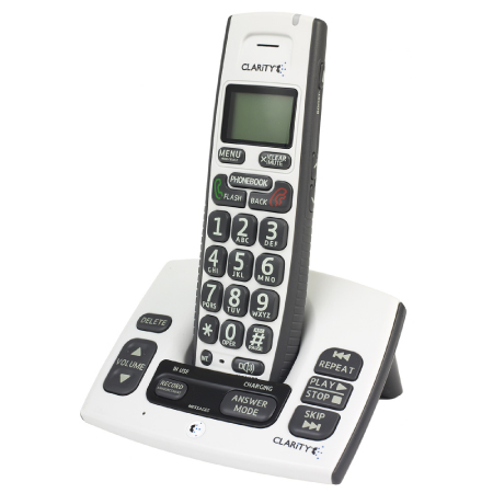Clarity D613 Amplified Cordless Phone with Digital Answering Machine