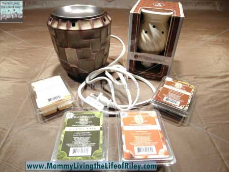ScentSationals Metropolitan and Mini Warmer with Holiday Fragrance Cubes