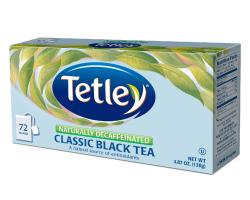 Tetley Tea Naturally Decaffeinated Classic Black Tea