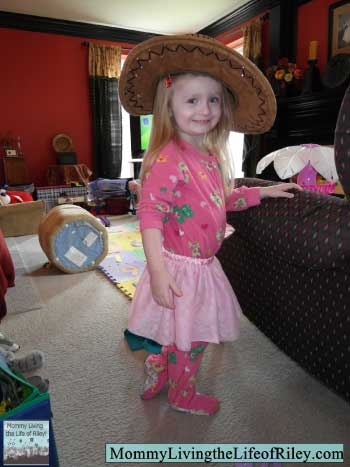 Dress Up Fun with Riley