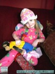 Wordless Wednesday ~ My Daughter: the Cowboy, Fairy, Hula Girl, Ballerina, Snow Skier in Training!