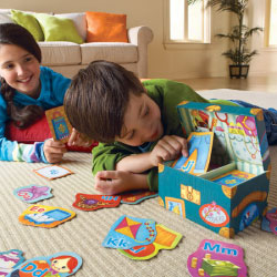 Educational Insights Grandma's Trunk Alphabet Game
