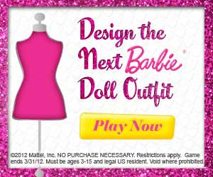 Design the Next Barbie Doll Outfit