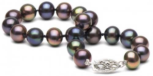 Pure Pearls Black Freshwater Pearl Bracelet