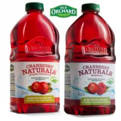 Old Orchard Cranberry Naturals Fruit Juice
