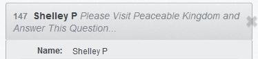 Peaceable Kingdom Winner