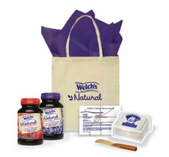 Welch's Natural Spreads Recipe Kit