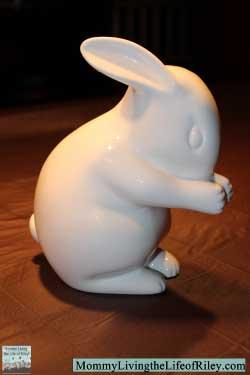 White Rabbit England Bone China Rabbit Night Light