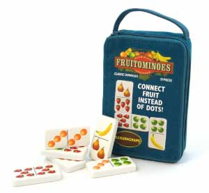 Fruitominoes by Bananagrams