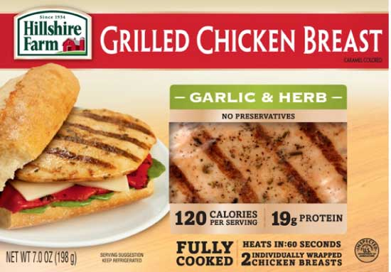 Hillshire Farm Garlic & Herb Grilled Chicken Breast