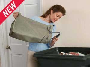 Rubbermaid Hidden Recycler Recycling Bin