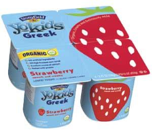 Stonyfield Organic YoKids Greek Strawberry Yogurt