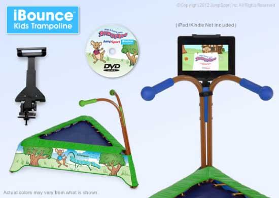 JumpSport iBounce Kid's Trampoline Bundle