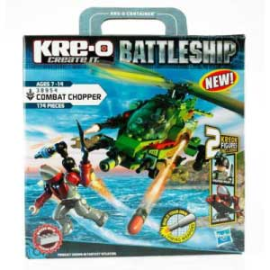 Hasbro KRE-O Battleship Combat Chopper Construction Set