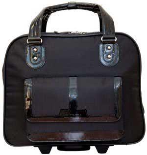 """CODi Ellipse Women's Rolling 15.6"""" Laptop Bag"""