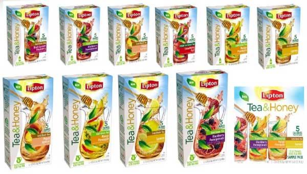 Lipton Tea & Honey Iced Tea Mixes