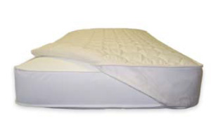 Naturepedic Organic Cotton Quilted Mattress Topper