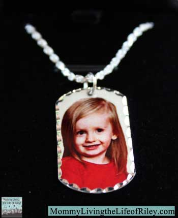 PicturesOnGold.com Custom Dog Tag Necklace
