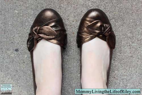 PlanetShoes.com Born Molly Women's Ballet Flat in Bronze