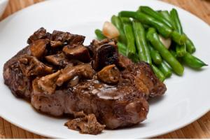 Ruth's Chris Steak House Filet & Wild Mushrooms