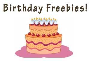 Best Birthday Freebies