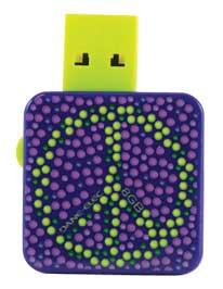 Dane-Elec Peace LifeBytes 8GB USB Drive